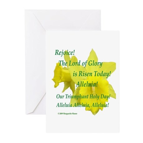 Daffodils, Rejoice Greeting Cards (Pk of 10)