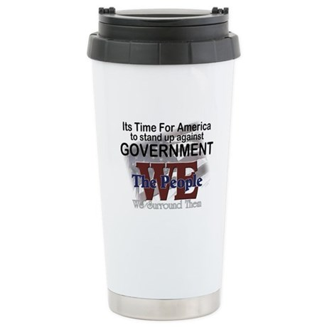 Stand Up Against Government Stainless Steel Travel