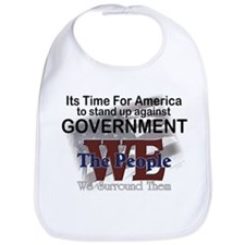 Stand Up Against Government Bib