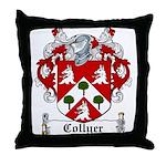 Collyer Coat of Arms Throw Pillow