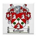 Collyer Coat of Arms Tile Coaster