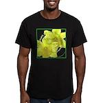 Rejoice, Multi Languages Men's Fitted T-Shirt (dar