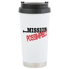 Mission Possimpible Travel Mug