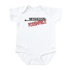 Mission Possimpible Infant Bodysuit