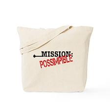 Mission Possimpible Tote Bag