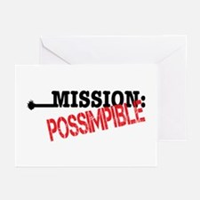 Mission Possimpible Greeting Cards (Pk of 10)