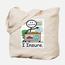 BB Insurance Agent Tote Bag