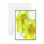 Rejoice, Multi Languages Greeting Cards (Pk of 20)