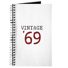 Vintage 1969 Journal