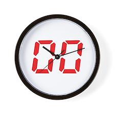 00 Zero Zero Nil Nil Wall Clock