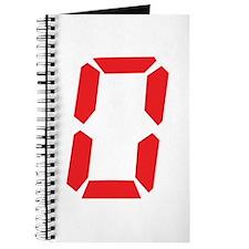 0 Zero alarm clock number Journal