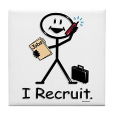 Recruiter Tile Coaster
