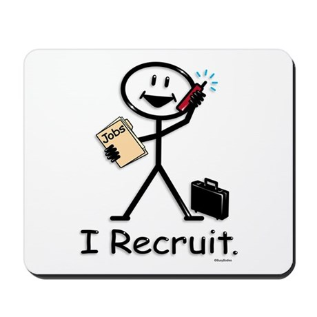 Recruiter Mousepad