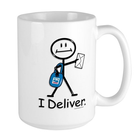 BusyBodies Mail Carrier Large Mug