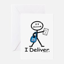 BusyBodies Mail Carrier Greeting Cards (Package of