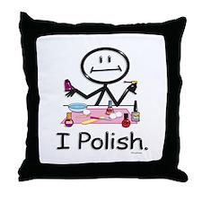 Manicurist Throw Pillow