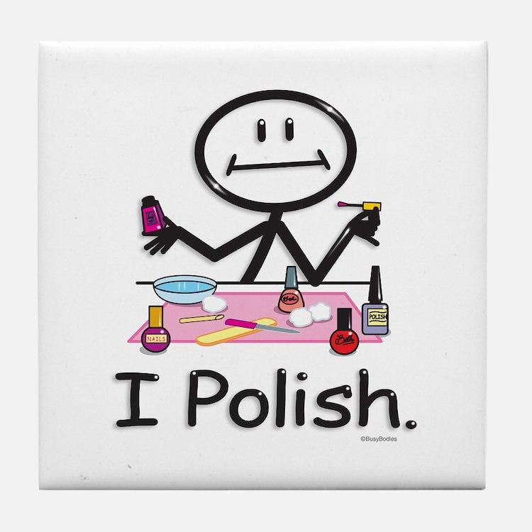 Manicurist Tile Coaster