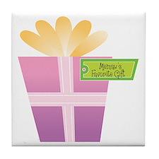 Memaw's Favorite Gift Tile Coaster