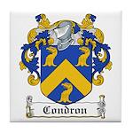 Condron Coat of Arms Tile Coaster