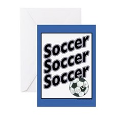 Soccer is my Life... Greeting Cards (Pk of 20)