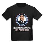 Ronald Reagan Kids Dark T-Shirt