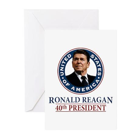 Ronald Reagan Note Cards (Pk of 10)