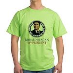 Ronald Reagan Green T-Shirt