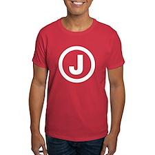 Letter J T-Shirt