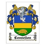 Connellon Coat of Arms Small Poster