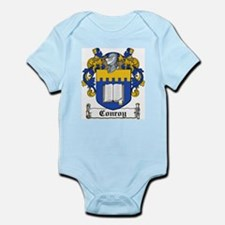 Conroy Coat of Arms Infant Creeper