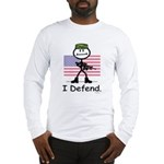 BusyBodies US Military Long Sleeve T-Shirt