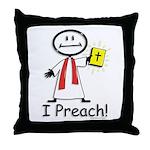 BusyBodies Minister Throw Pillow