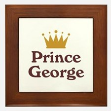Personalized George Framed Tile