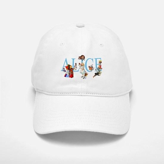 ALICE & FRIENDS Baseball Baseball Cap