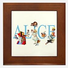 ALICE & FRIENDS Framed Tile