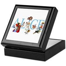 ALICE & FRIENDS Keepsake Box