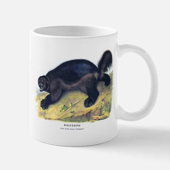 Audubon Wolverine Animal Mug