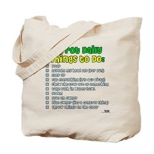 Parrot Things to Do List Tote Bag