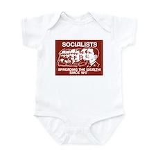 Socialists Obama Infant Bodysuit