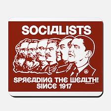 Socialists Obama Mousepad