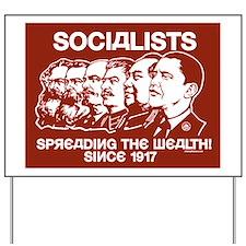 Socialists Obama Yard Sign