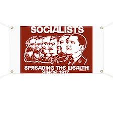 Socialists Obama Banner