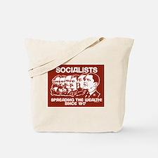Socialists Obama Tote Bag
