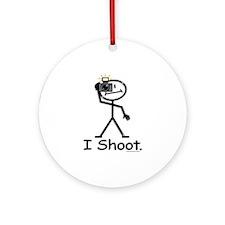 Photographer Ornament (Round)