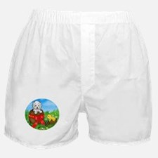 Easter Westie Boxer Shorts