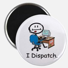 """BusyBodies Police/Fire Dispatcher 2.25"""" Magnet (10"""
