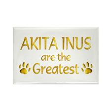 Akita Inu Rectangle Magnet (10 pack)
