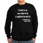 Emily Dickinson 19 Sweatshirt (dark)