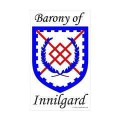Innilgard Device Rectangle Sticker 50 pk)