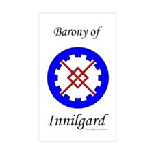 Innilgard populace Rectangle Decal
